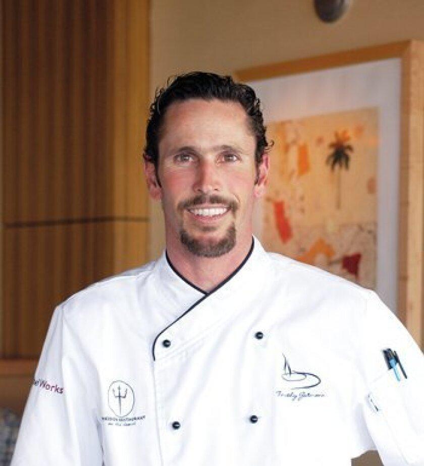 Chef Timothy Gutmann of Poseidon Restaurant in Del Mar Photo: Courtesy