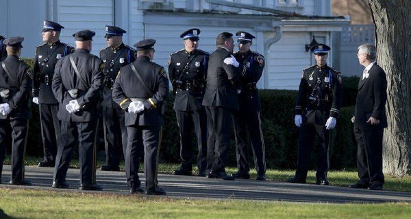 Sandy Hook: Firefighters salute Daniel, 7; teacher has hero's honor
