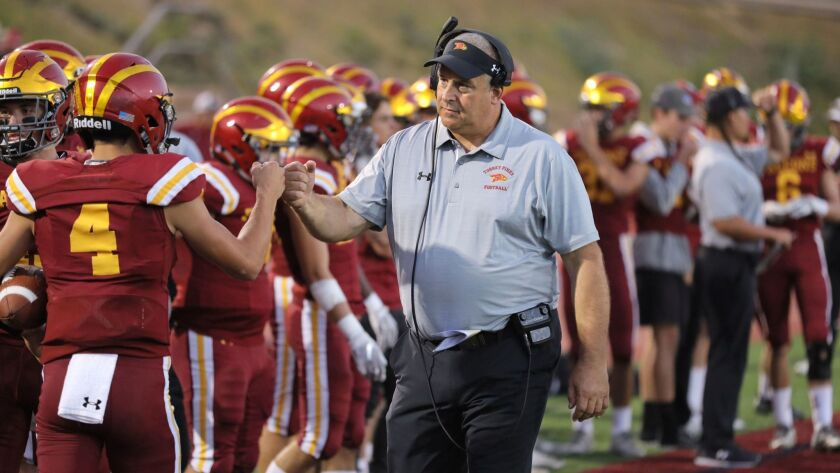 Coach Ron Gladnick has guided Torrey Pines to a 7-0 record this season.