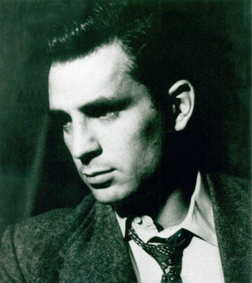 Novelist and poet Jack Kerouac.