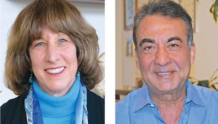 'Local Hero' recipients Virginia Gordon and Azim Khamisa. Courtesy