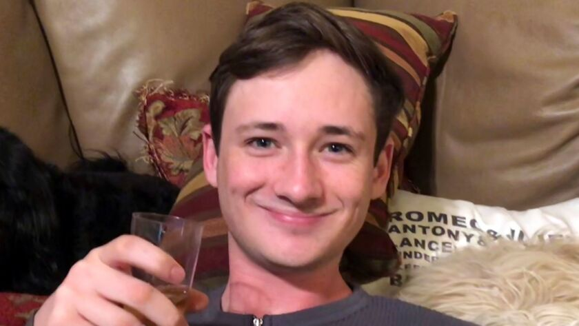 This undated photo provided by the Orange County Sheriff's Department shows Blaze Bernstein, 19, as
