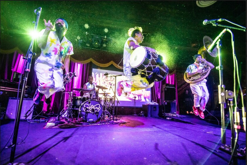 The band Red Baraat will perform as part of the 2019/2020 ArtPower season at UC San Diego.