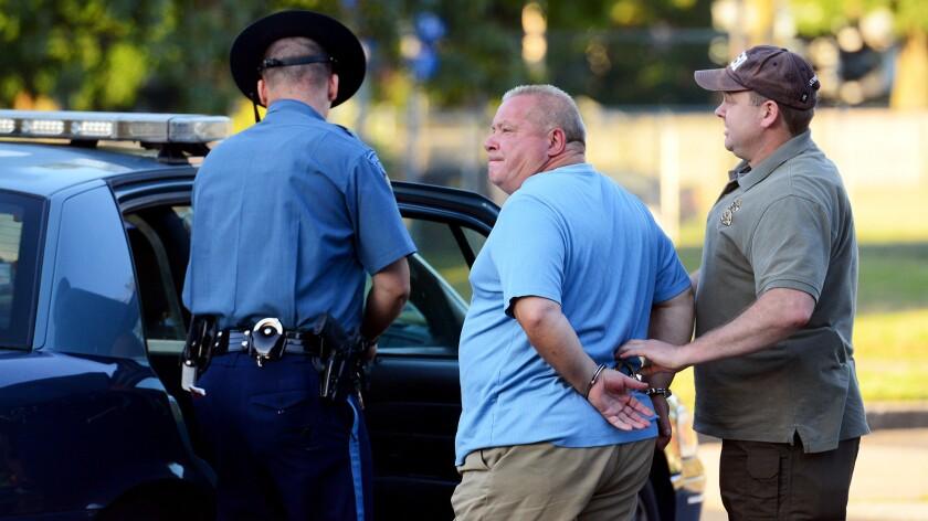 Francesco Depergola, 60, is arrested in Massachusetts.