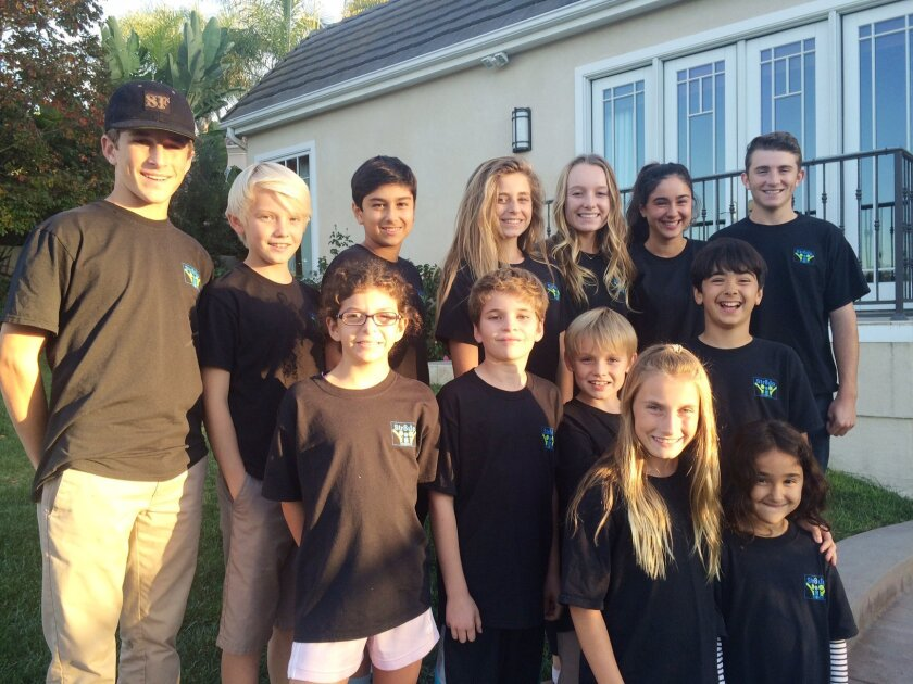 The Str8up Kid2Kid crew. Photo by Karen Billing