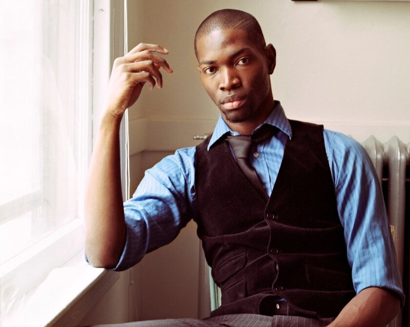 Playwright Tarell Alvin McCraney. McCraney's The Brothers Size will run Jan. 26 - Feb. 24, 2013 at The Old Globe. Photo by Deana Lawson.