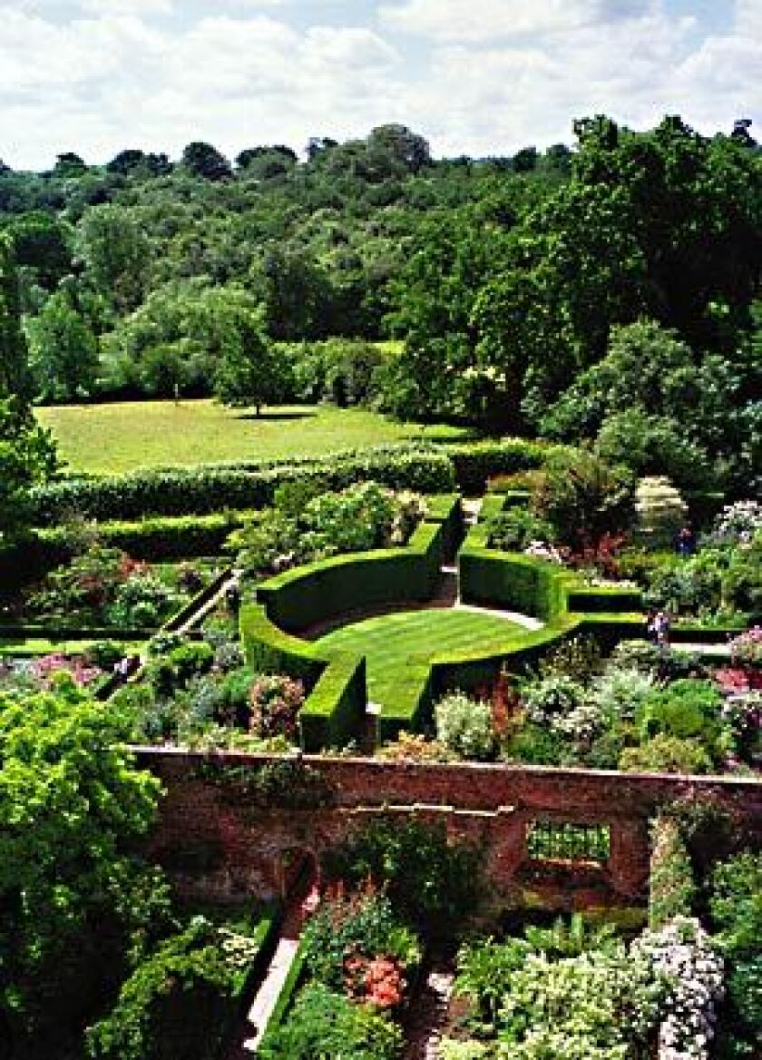 """Sissinghurst is one of the outstanding gardens of the world, created by Vita Sackville-West and Sir Harold Nicolson between the surviving parts of an Elizabethan mansion. It is a romantic garden with seasonal features throughout the year in a structure of """"outdoor rooms"""" within the garden."""