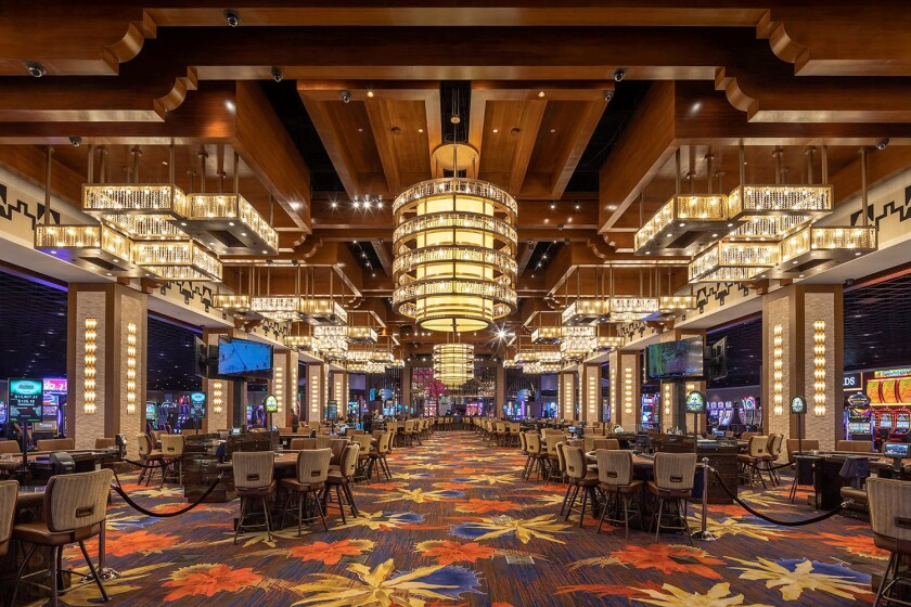 The elegant, new Soboba Casino Resort features 81,747 square feet of gaming, including 2,000 slots and 36 table games.