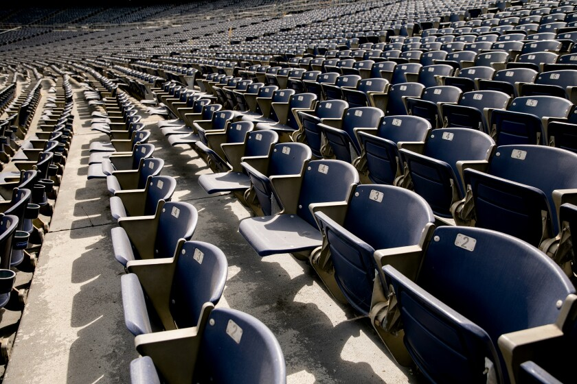 San Diego State is providing fans with an opportunity to purchase seats from SDCCU Stadium.