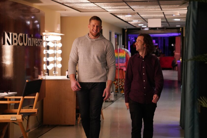 "JJ Watt hosts ""SNL"""