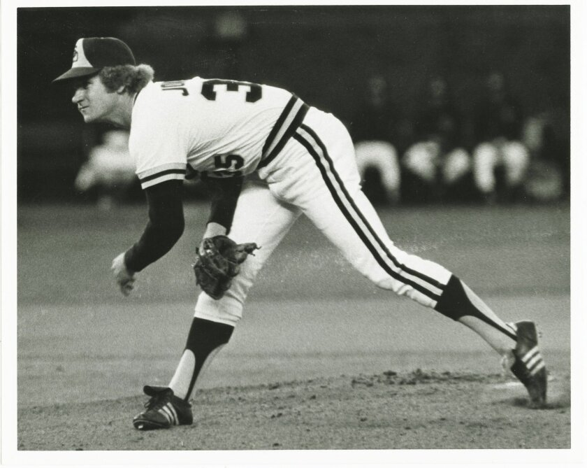 Padres left-hander Randy Jones was known for working quickly and effectively. He won the Cy Young Award in 1976.