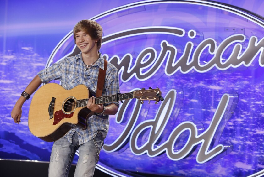 Isaac Cole auditions for the final season of 'American Idol.'