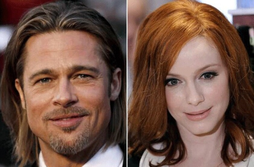 """It seems that a scanned photo of Brad Pitt registered a dismal 8 on the Ugly Meter. """"Mad Men"""" actress Christina Hendricks scored a mortifying 10. Meanwhile there have been reports of coffee mugs and desk lamps registering supermodel-worthy numbers."""