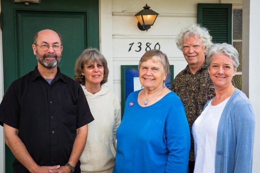 Casey Peto, Sue Rios, Ellen Hitchcock, Kip McBane and Elizabeth Bills.