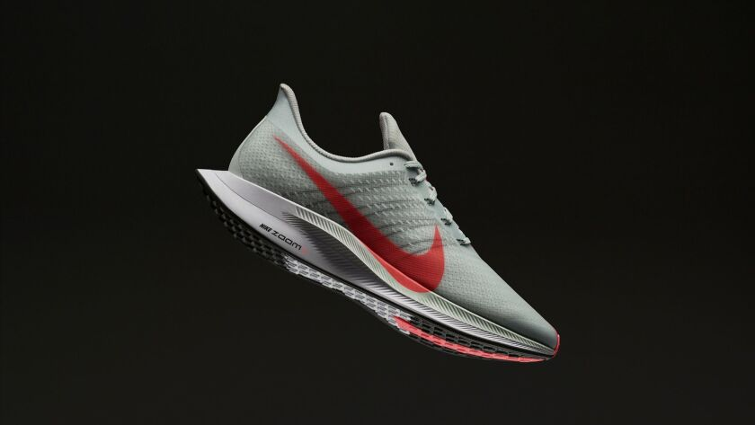 Running shoes with an extra boost Nike?s new Zoom Pegasus Turbo training shoes are serious about tha