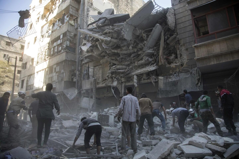 Living under siege | Life in Aleppo
