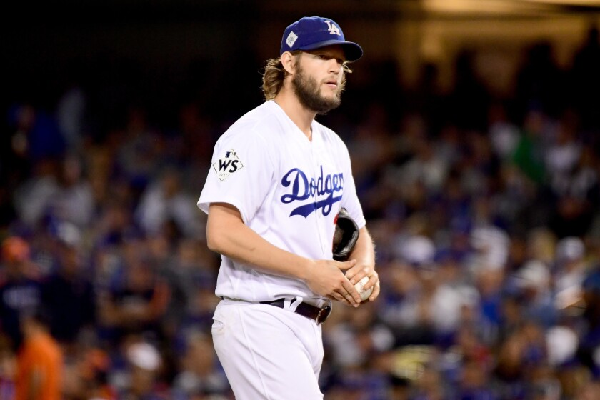 Major League Baseball concluded that the Houston Astros stole signals sent to Los Angeles Dodgers pitchers such as Clayton Kershaw, giving them an illicit advantage.