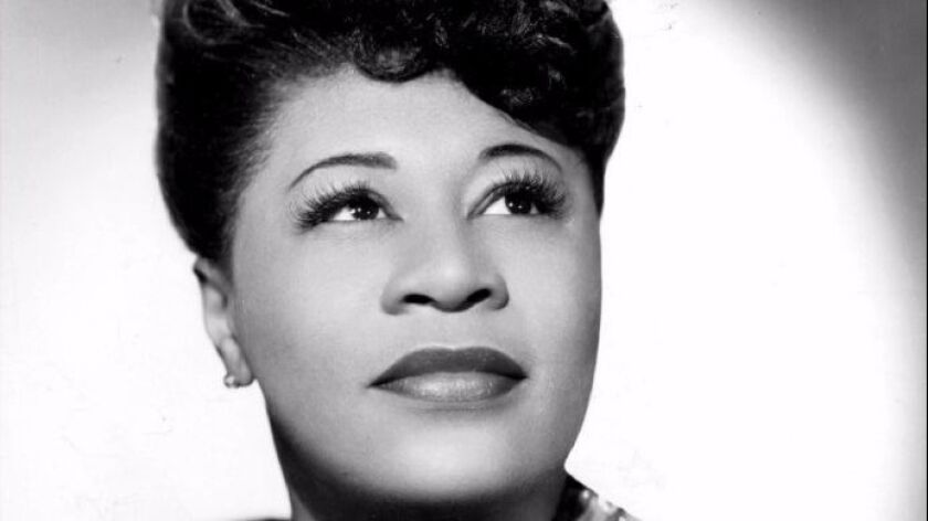 "Jazz vocal giant Ella Fitzgerald (above) is ingeniously saluted on Regina Carter's latest album, ""El"