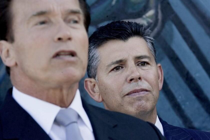 Gov. Arnold Schwarzenegger nominated state Sen. Abel Maldonado to be the next lieutenant governor last month. Maldonado, a moderate Republican from Santa Maria, has parted with his caucus on key votes.