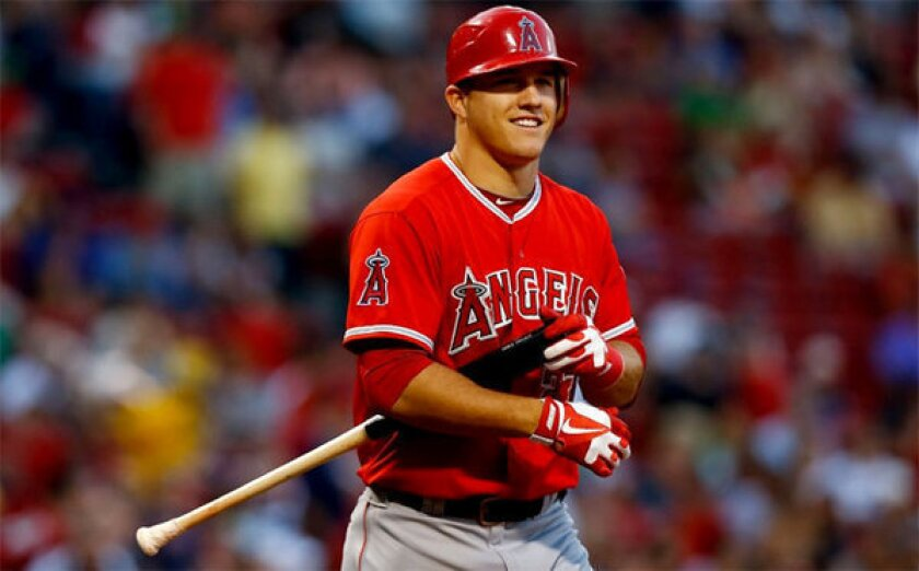 Mike Trout was rewarded for his 2012 season with a contract $20,000 above the league minimum.
