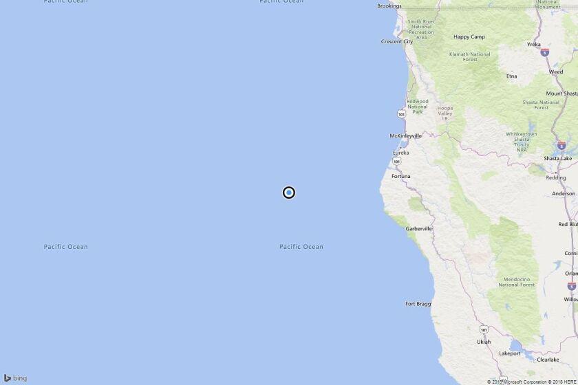 Earthquake: 3.4 quake strikes near Capetown, Calif.