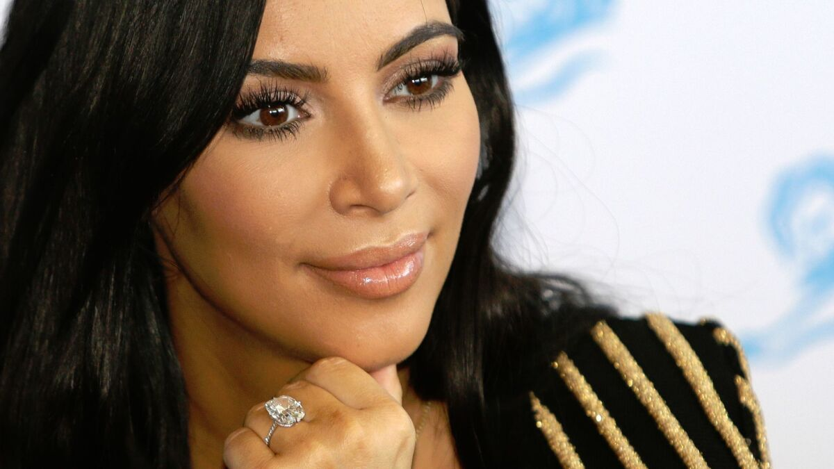 Column: We have a fake eyelashes epidemic. I blame Fox News and the Kardashian sisters