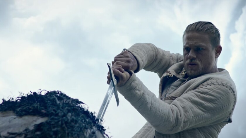Movie review: 'King Arthur: Legend of teh Sword,' big, violent retelling of ancient myth