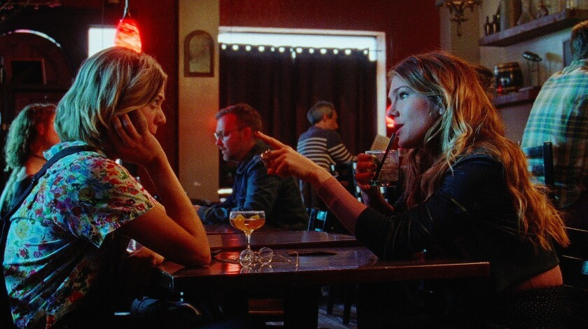 """Analeigh Tipton and Lily Rabe in """"Golden Exits"""""""