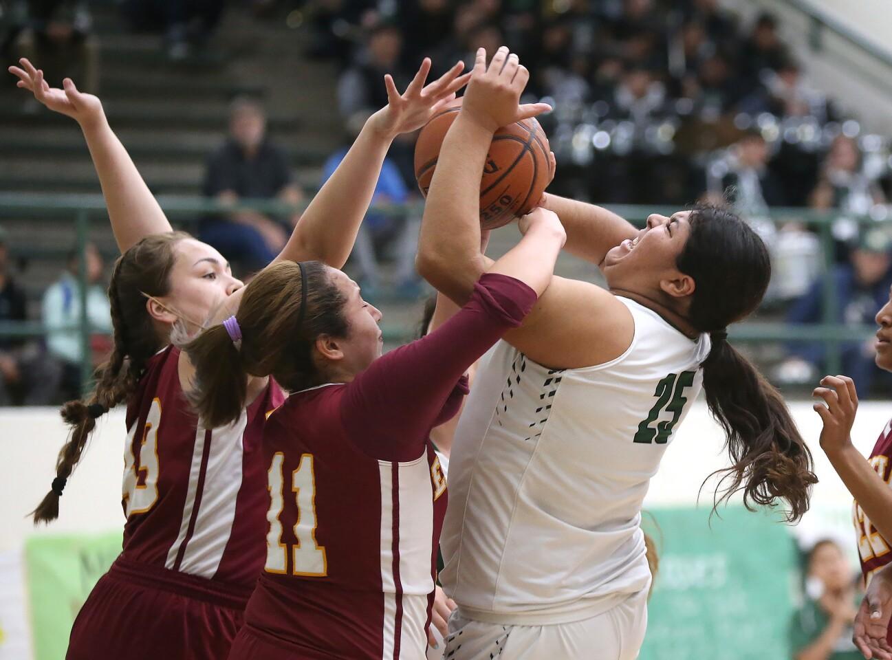 Photo Gallery: Estancia vs. Costa Mesa in girls' basketball