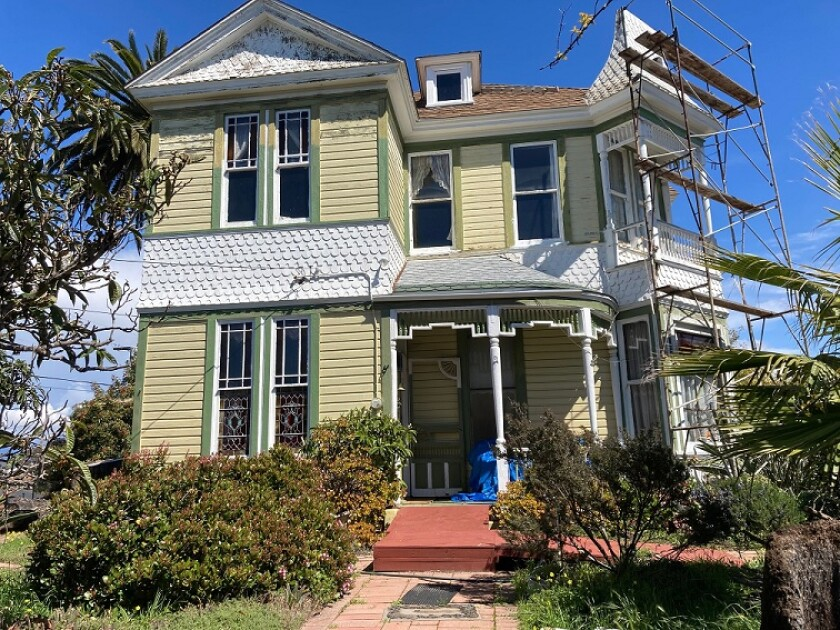The Carlsbad Historic Preservation Commission has asked the City Council to preserve the 1887 Culver House on Highland Drive.
