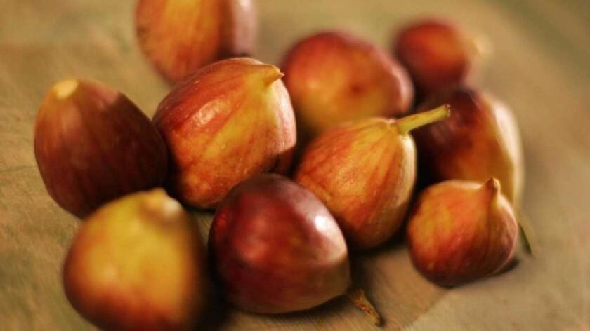 Fresh market figs.