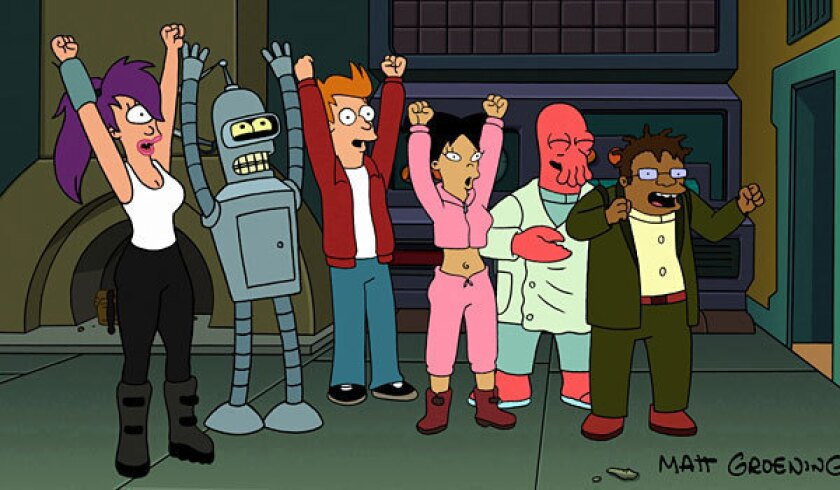'Futurama' to end (a second time) after seven seasons