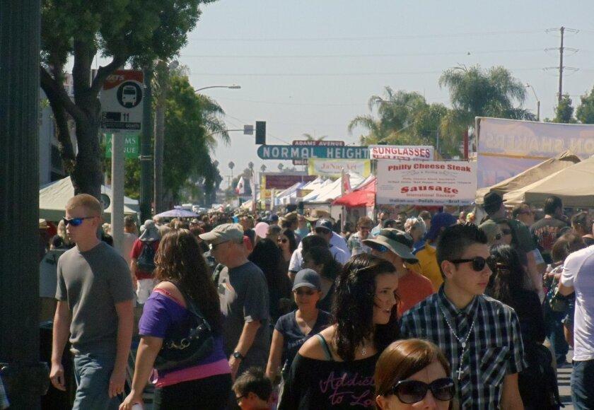 Last year's Adams Avenue Roots Festival. Credit: Caesar Churchill