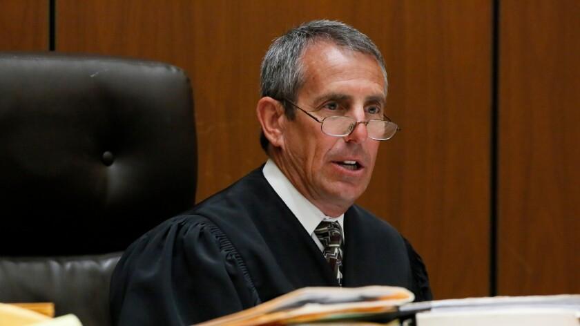 Los Angeles County Superior Court Judge Craig Richman.