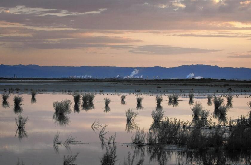 Salton Sea geothermal power plants