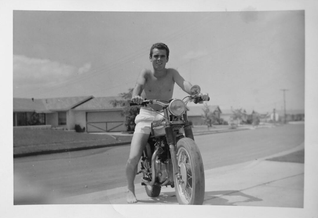 Duncan McFetridge in the 1960s.