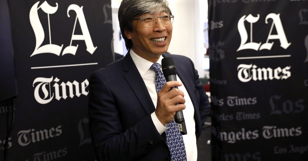 Patrick Soon-Shiong affirms commitment to the Los Angeles Times - Los Angeles Times
