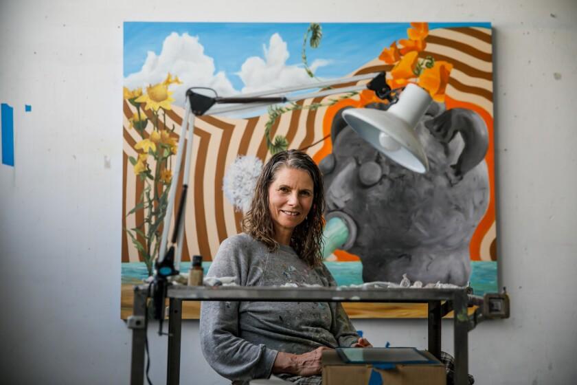 Painter Lisa Adams