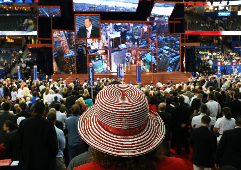 The 2012 Republican National Convention in Tampa, Fla. If a contested convention emerges this year in Cleveland, technology will play a crucial role in the fight for delegates.