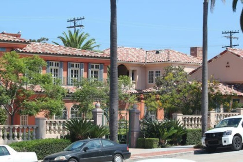The Copley Trust is seeking to divide the late San Diego Union-Tribune Publisher David Copley's sprawling 'Foxhole' mansion at Virginia Way and Ivanhoe Avenue in two. The city is reviewing preliminary plans. Pat Sherman