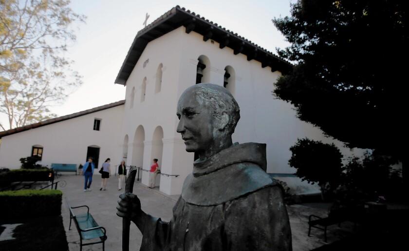 Mission San Luis Obispo de Tolosa was founded in 1772 by Father Junipero Serra.