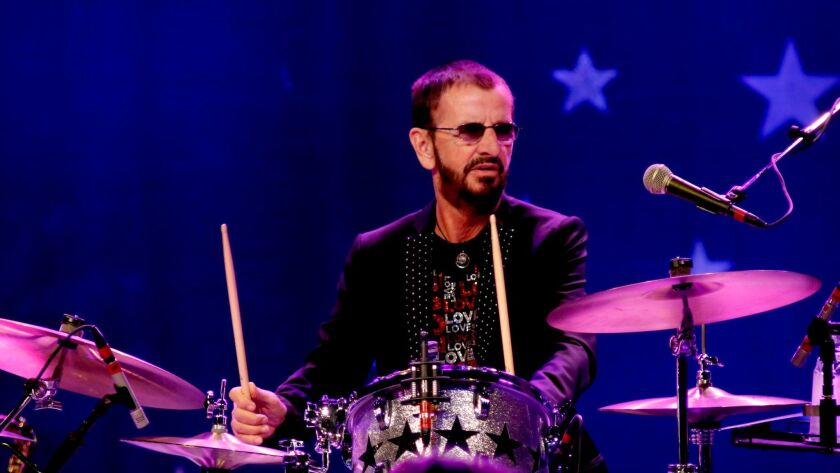 Beatles drummer Ringo Starr performs in July at Los Angeles' Greek Theatre with his All-Starr Band. The musician has announced 2017 concert dates, including eight in Las Vegas.
