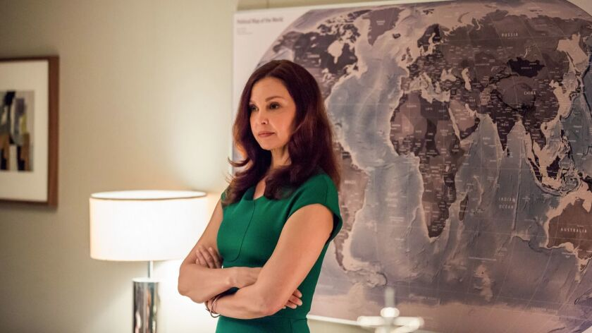 Ashley Judd in Berlin Station Season 2 Episode 201: Everything's Gonna Be Alt-Right