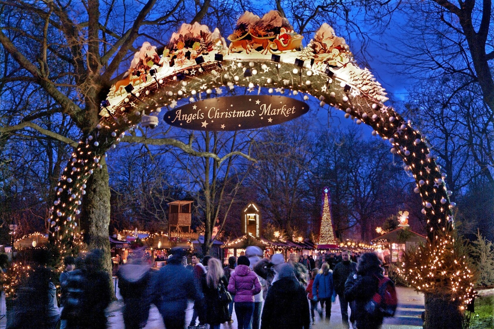 London At Christmas Images.Christmas In London Is Wondrous In Hyde Park Kew Gardens