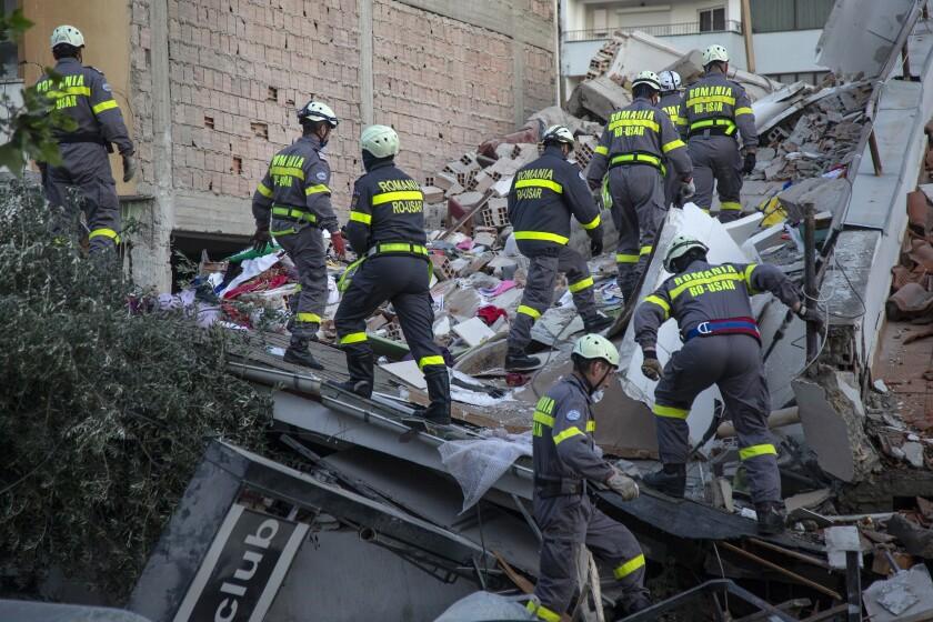 Image result for albania earthquake