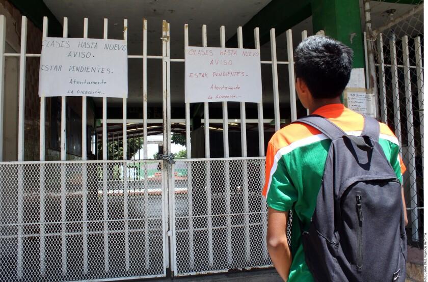 El formato de evaluación docente es uno de los temas básicos en el conflicto con maestros mexicanos.
