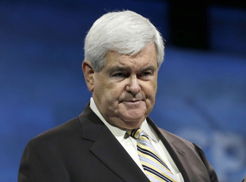 Newt Gingrich told Sean Hannity on Hannity's radio show that Indiana ice cream maker Bonnie Doon Ice Cream Corp. is being forced to close its doors because of Obamacare.