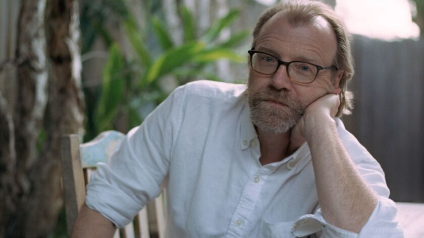 "George Saunders, author of the novel ""Lincoln in the Bardo."" Credit: Chloe Aftel"
