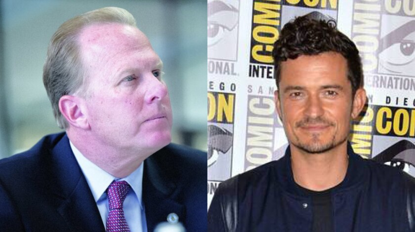Mayor Kevin Faulconer's office on Saturday denied claims by actor Orlando Bloom that the mayor left an Amazon Prime activation after finding out it featured immigrant characters.
