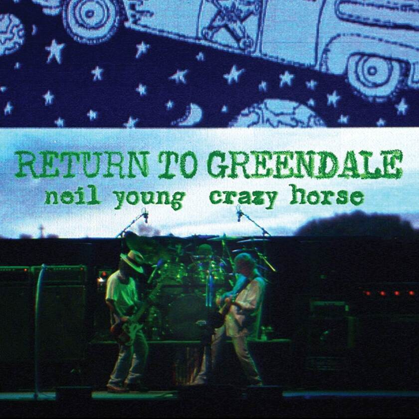"""This cover image released by Reprise Records shows """"Return to Greendale"""" by Neil Young. (Reprise Records via AP)"""